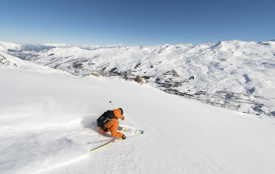 Station de ski Les Menuires Les 3 Vallées