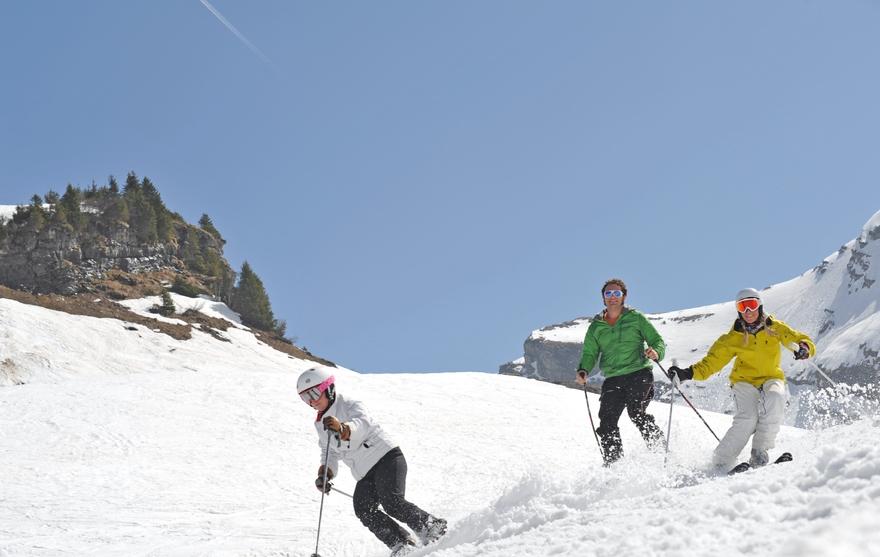 Ski à Châtel