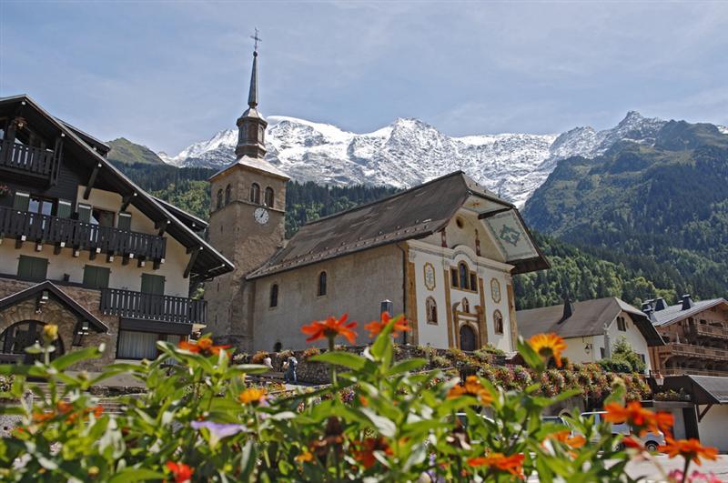 Eglise sainte trinit savoie mont blanc savoie et haute savoie alpes - Office tourisme les contamines montjoie ...