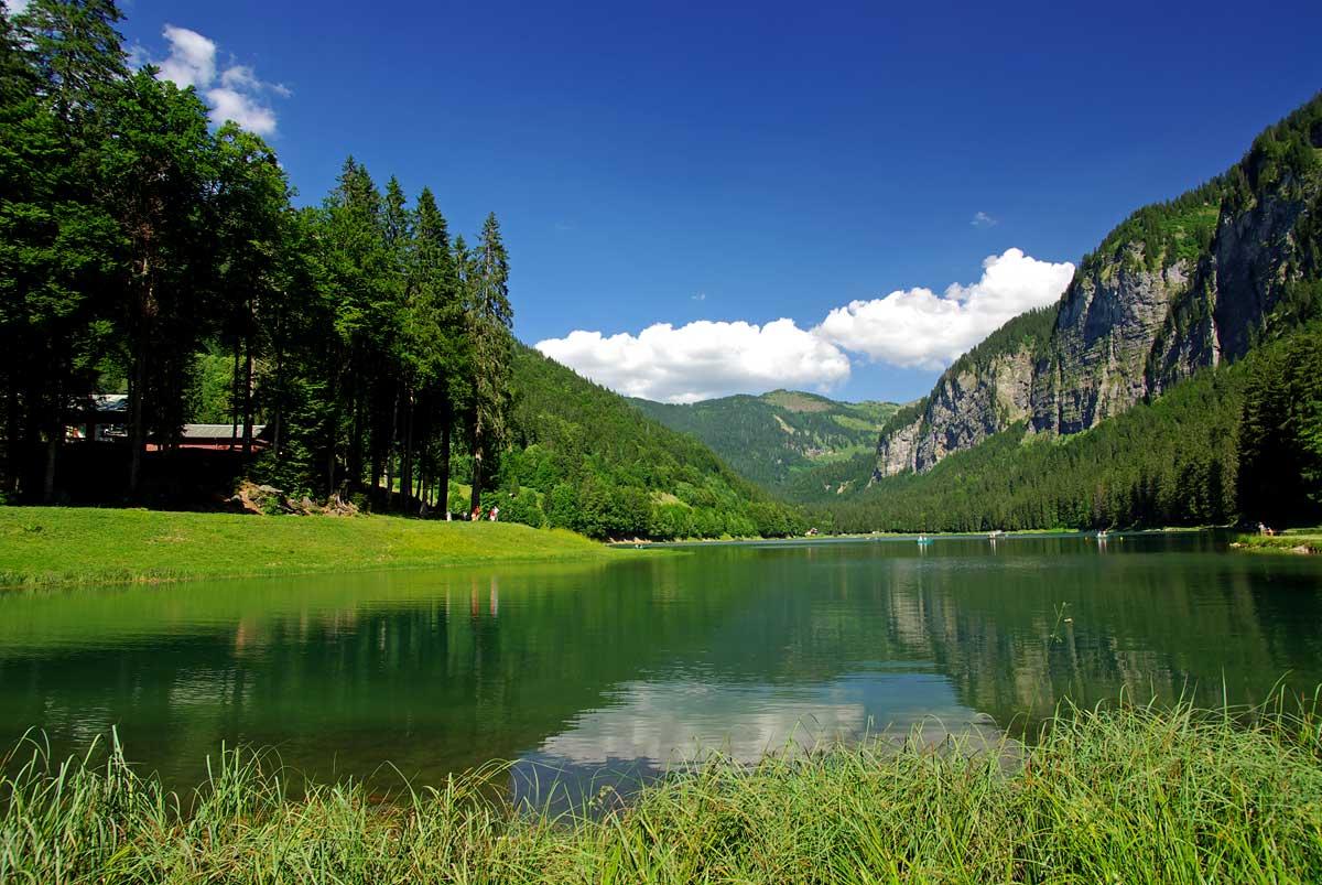 Lac de montriond savoie mont blanc savoie et haute - Office du tourisme morzine haute savoie ...