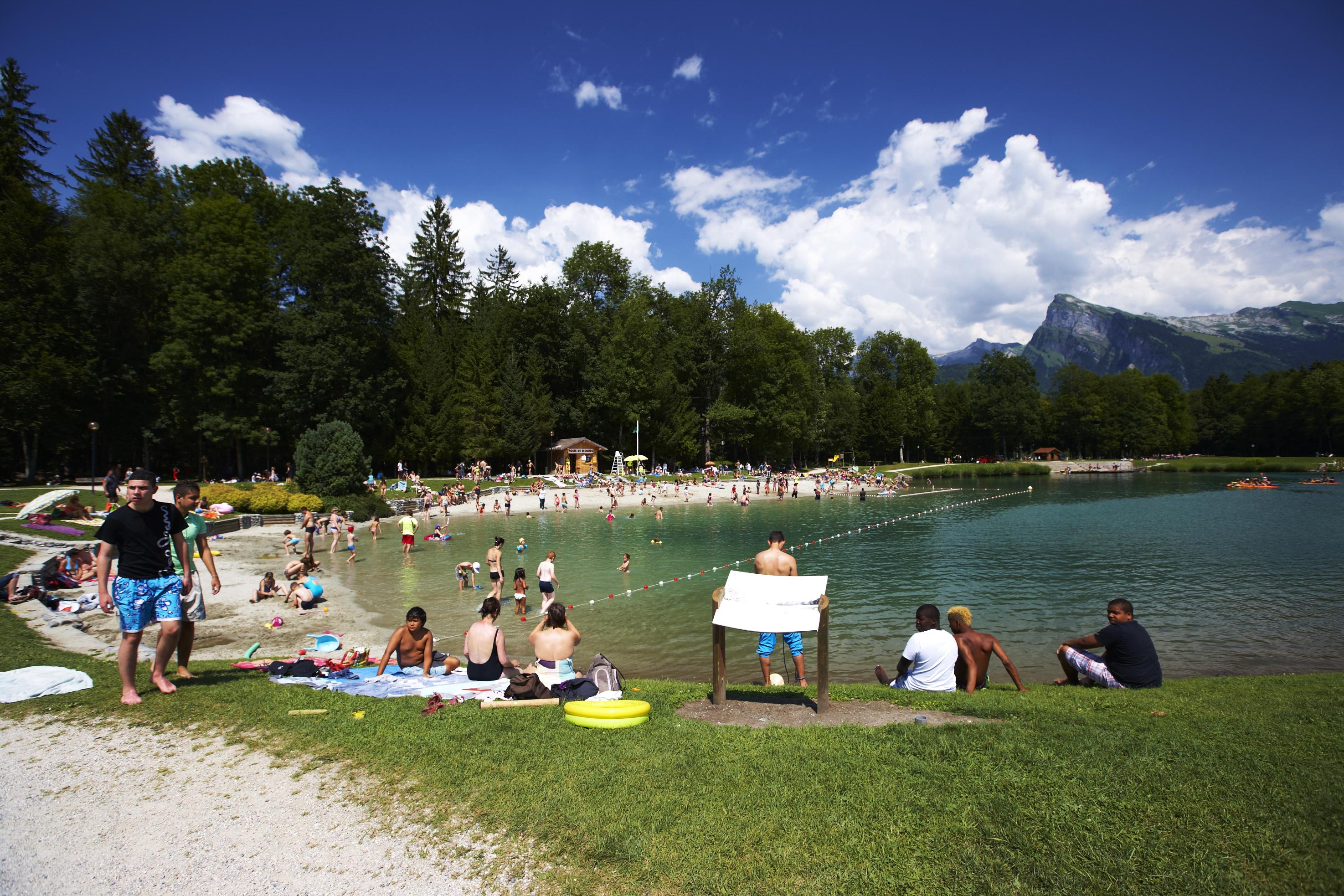 Lac bleu savoie mont blanc savoie et haute savoie alpes - Office tourisme morillon haute savoie ...
