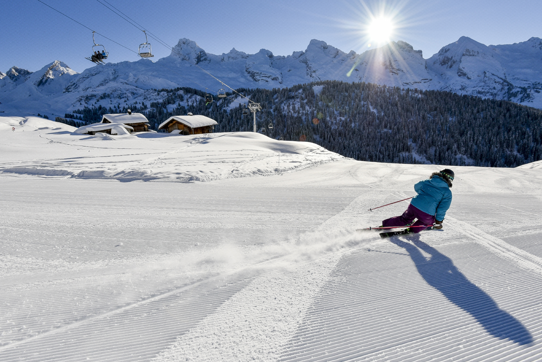 le grand-bornand - french alps - savoie mont blanc