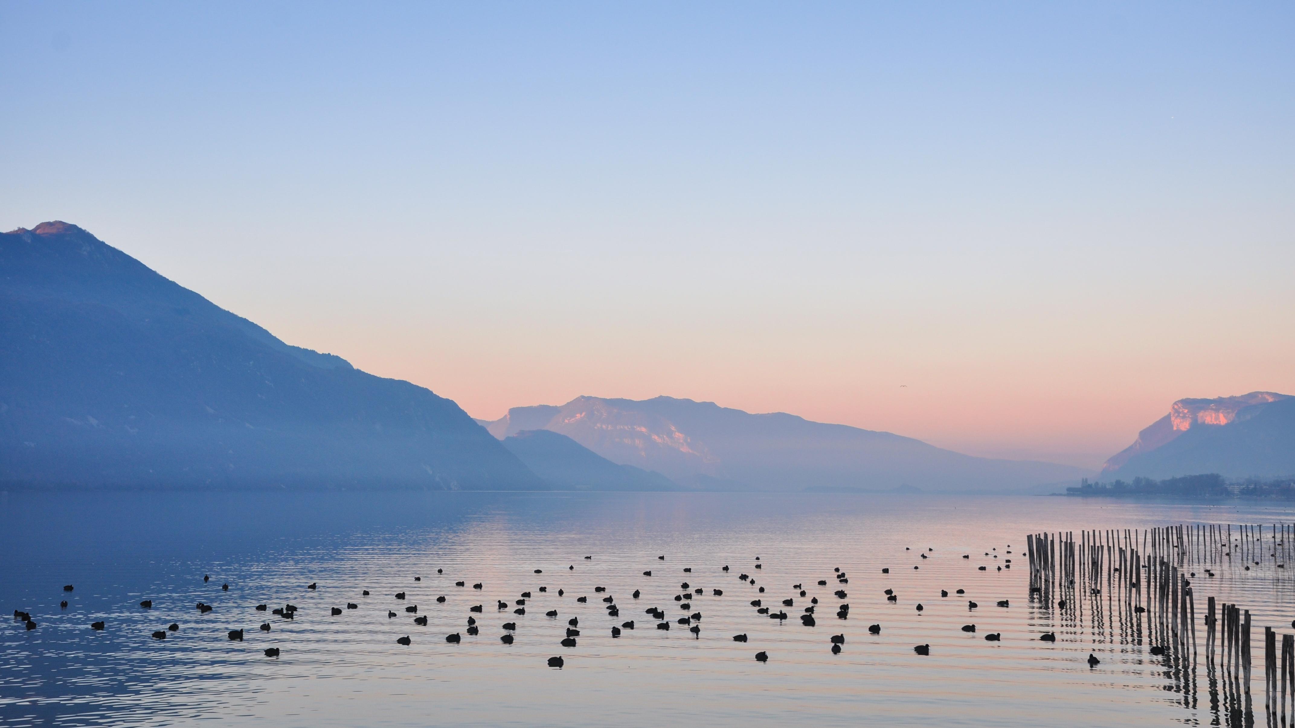 Le lac du bourget savoie mont blanc savoie et haute for Meteo aix les s bains 5 jours