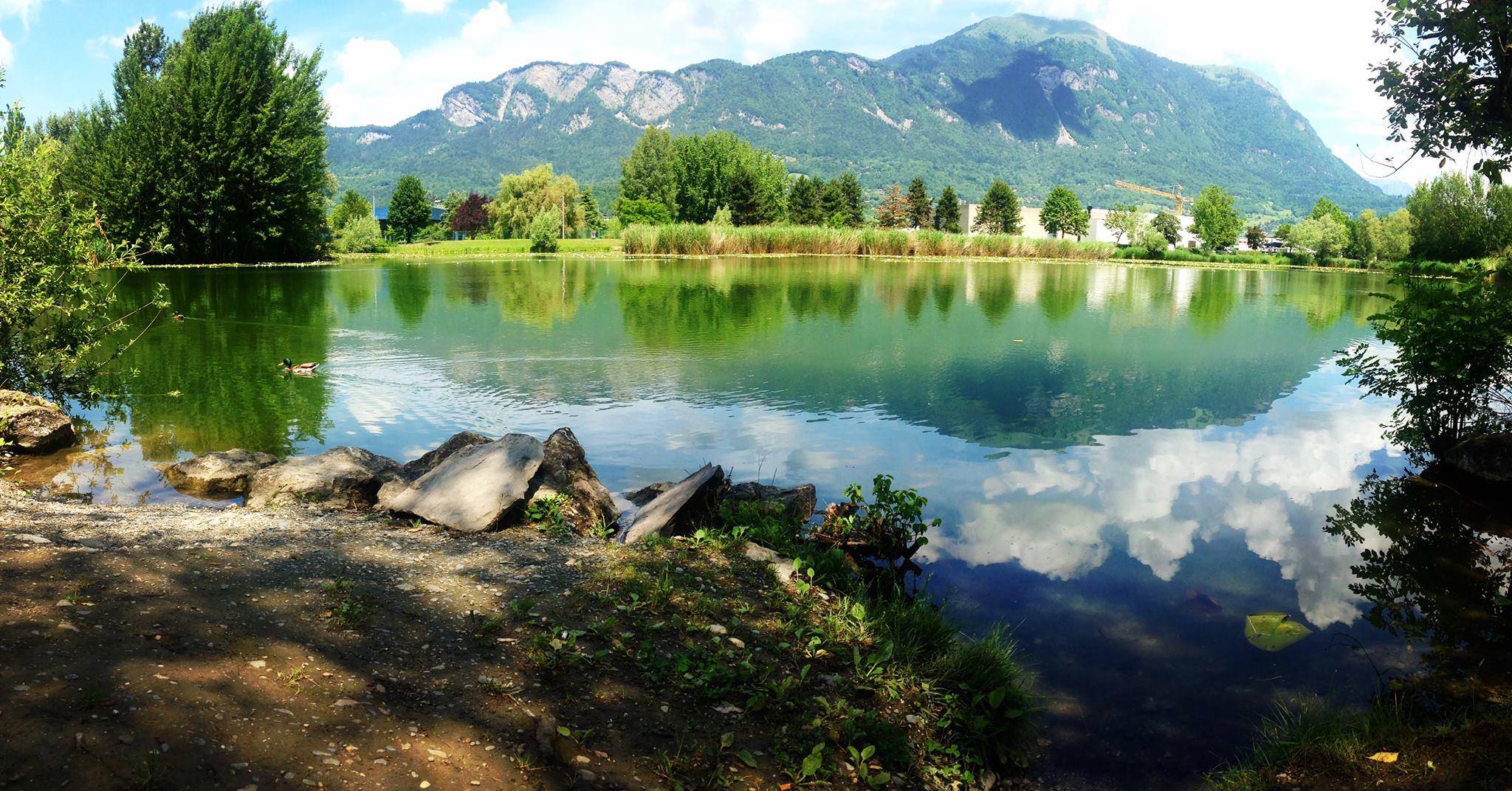 Lac de la motte longue savoie mont blanc savoie et haute savoie alpes - Office tourisme bonneville ...