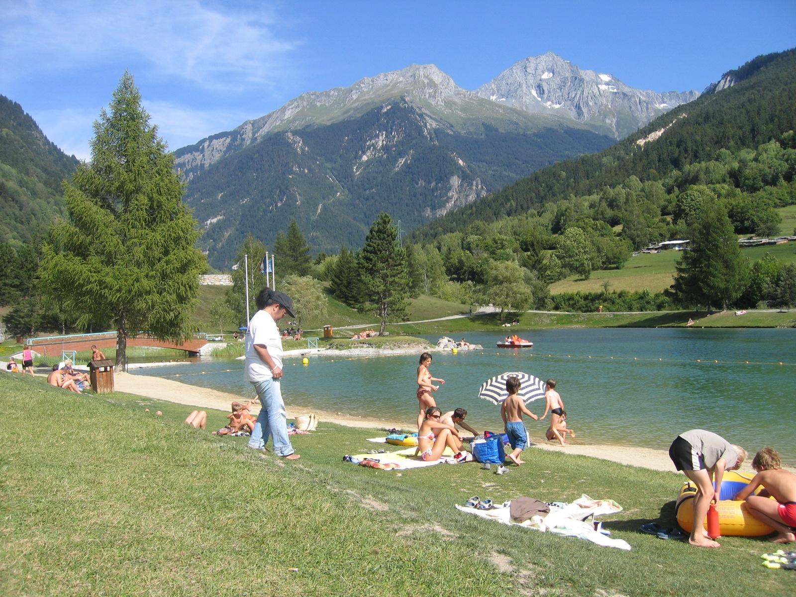 Plan D Eau De Bozel Savoie Mont Blanc Savoie Et Haute