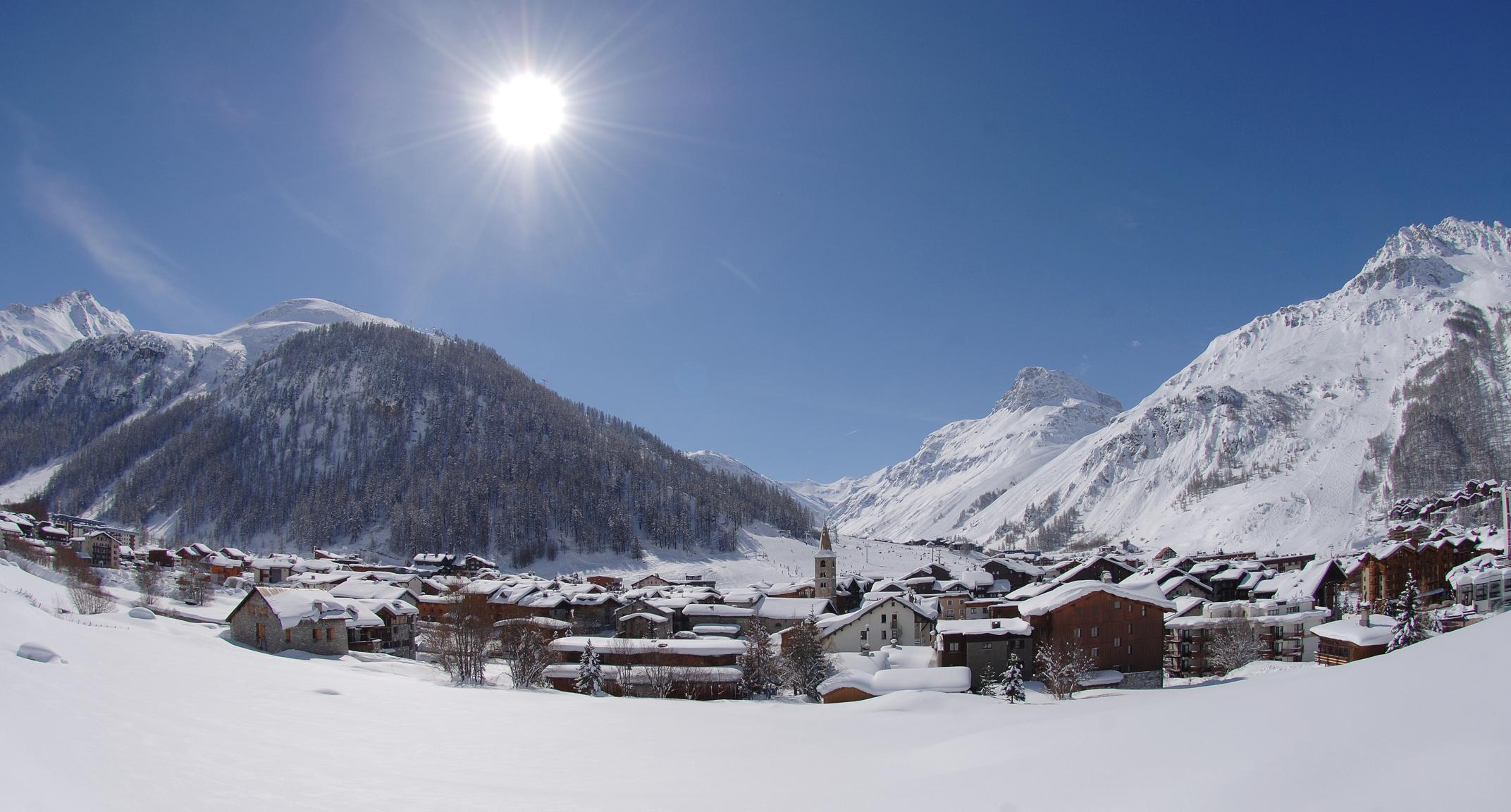 Val dIsre French Alps Savoie Mont Blanc