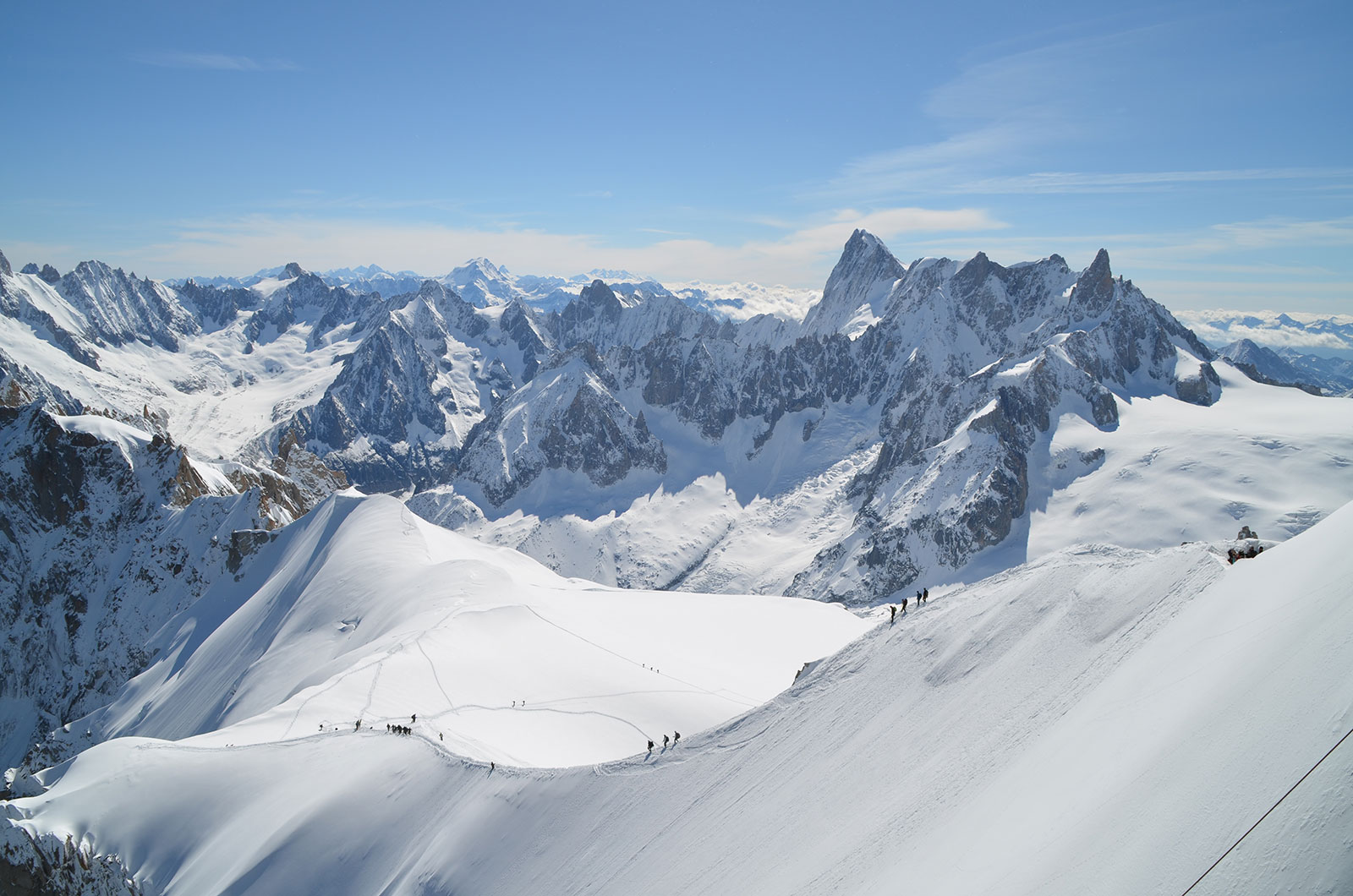 T l ph rique de l 39 aiguille du midi savoie mont blanc - Office de tourisme chamonix mont blanc ...