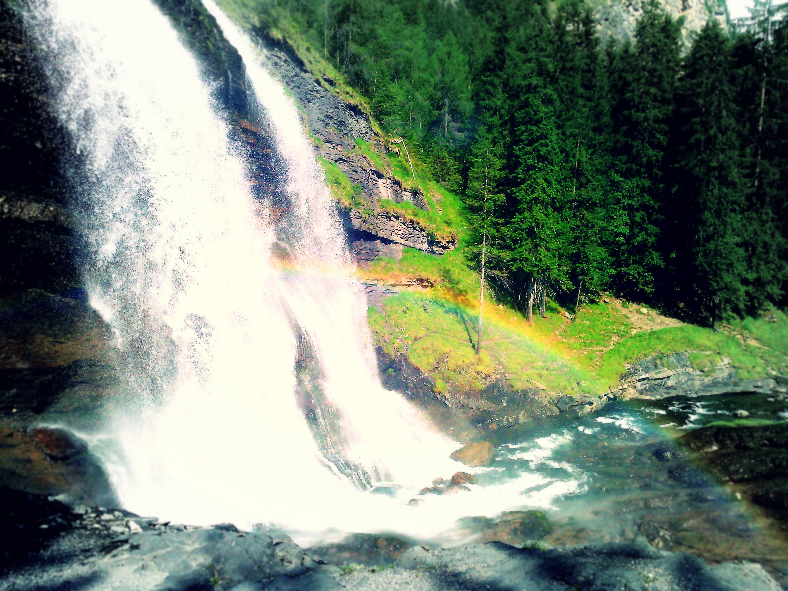 Cascade du rouget savoie mont blanc savoie et haute savoie alpes - Office de tourisme sixt fer a cheval ...