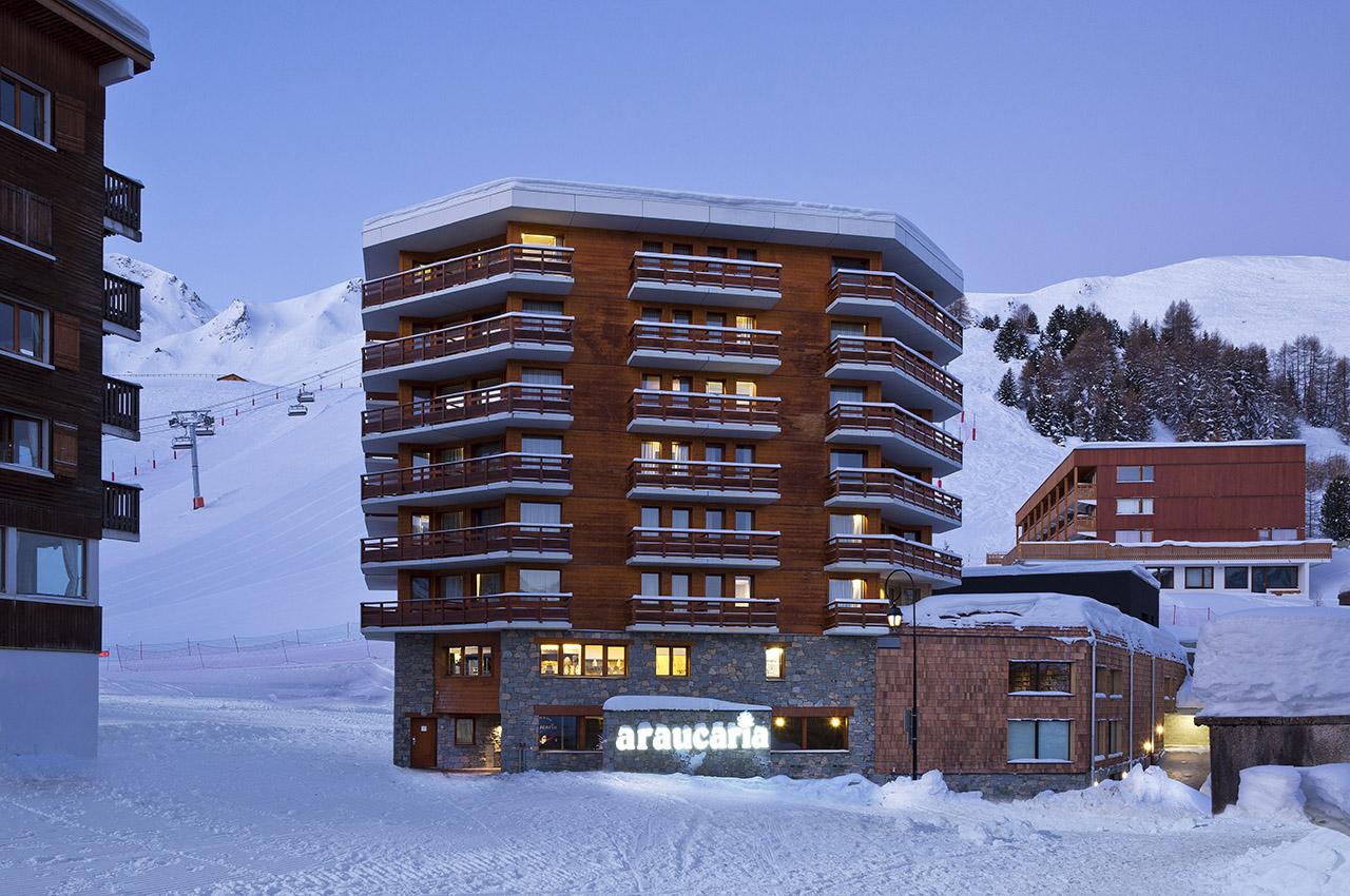 Araucaria hotel spa savoie mont blanc savoie et haute savoie alpes - Office tourisme la plagne centre ...