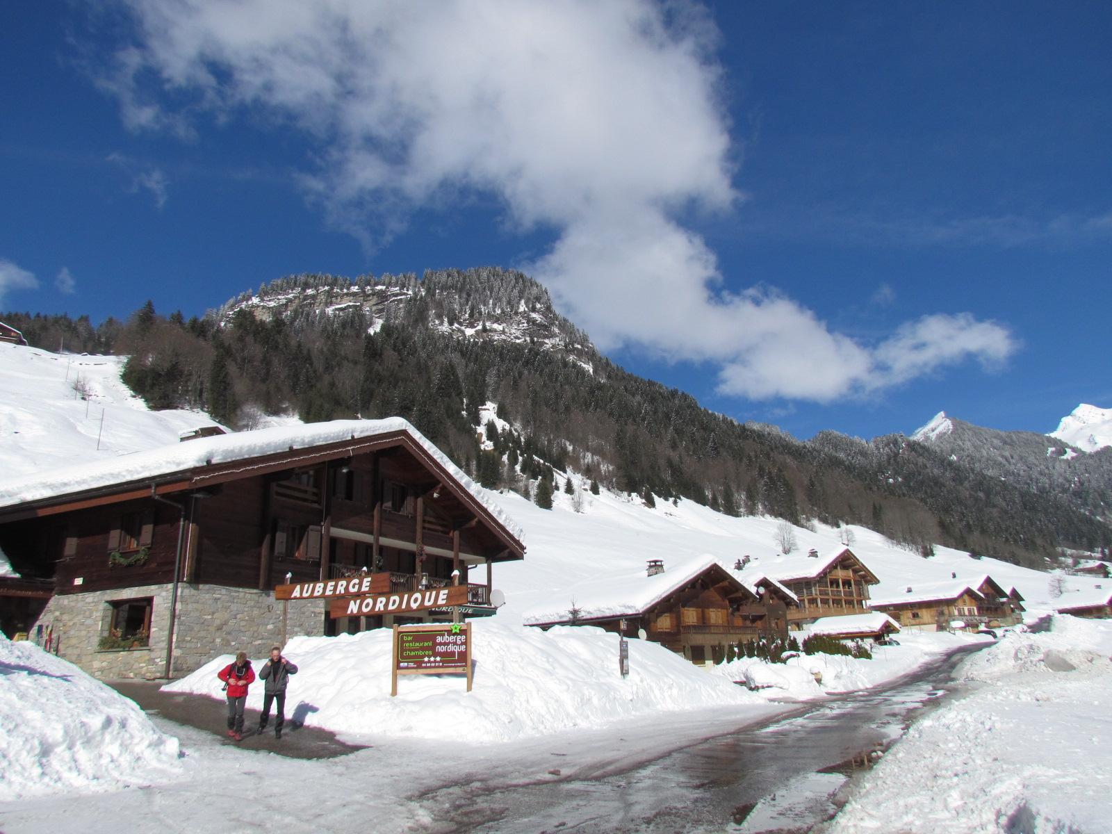 Village de vacances auberge nordique savoie mont blanc savoie et haute savoie alpes - Office du tourisme grand bornand chinaillon ...