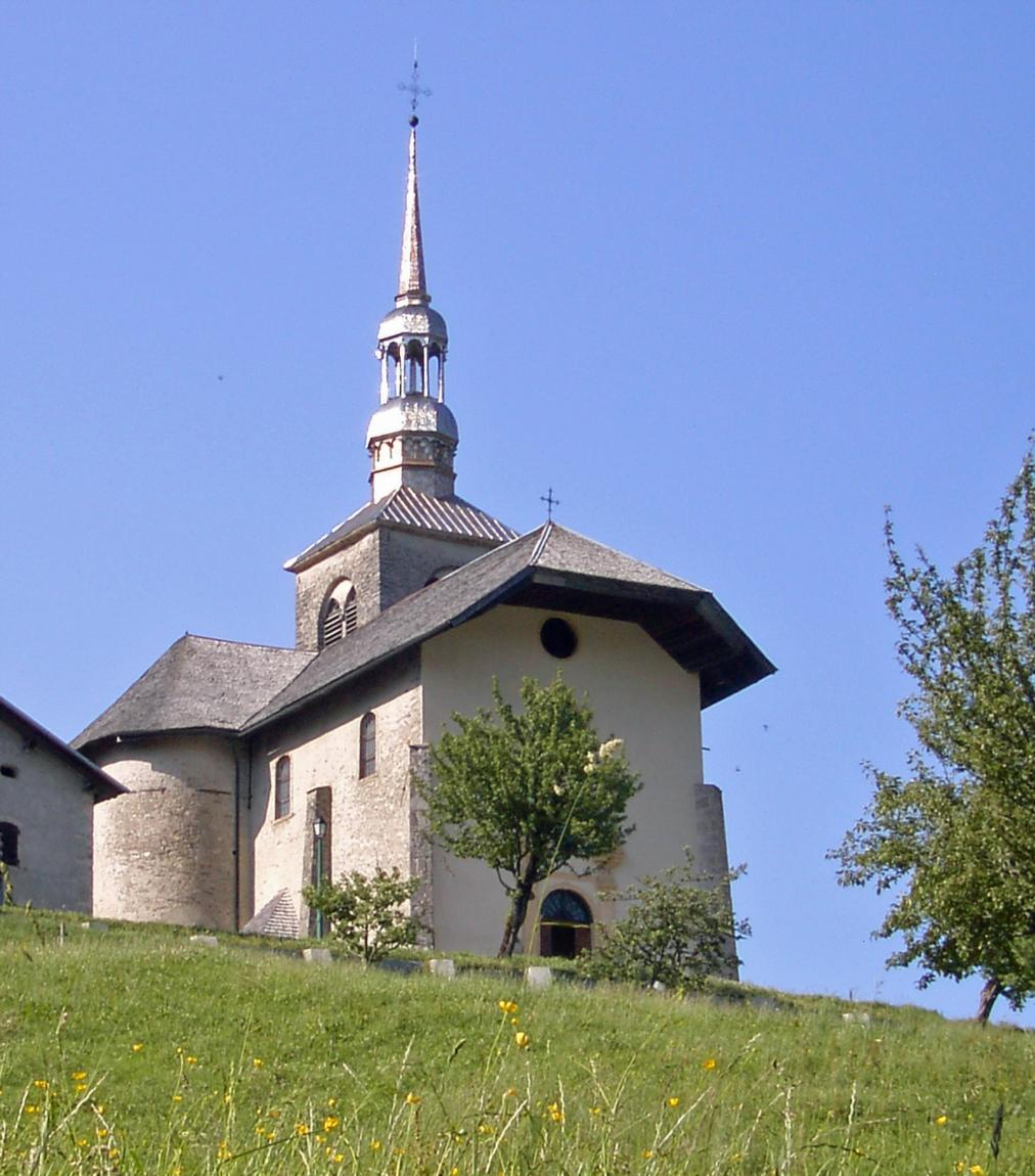 Eglise de saint nicolas la chapelle savoie mont blanc - Saint nicolas de veroce office du tourisme ...