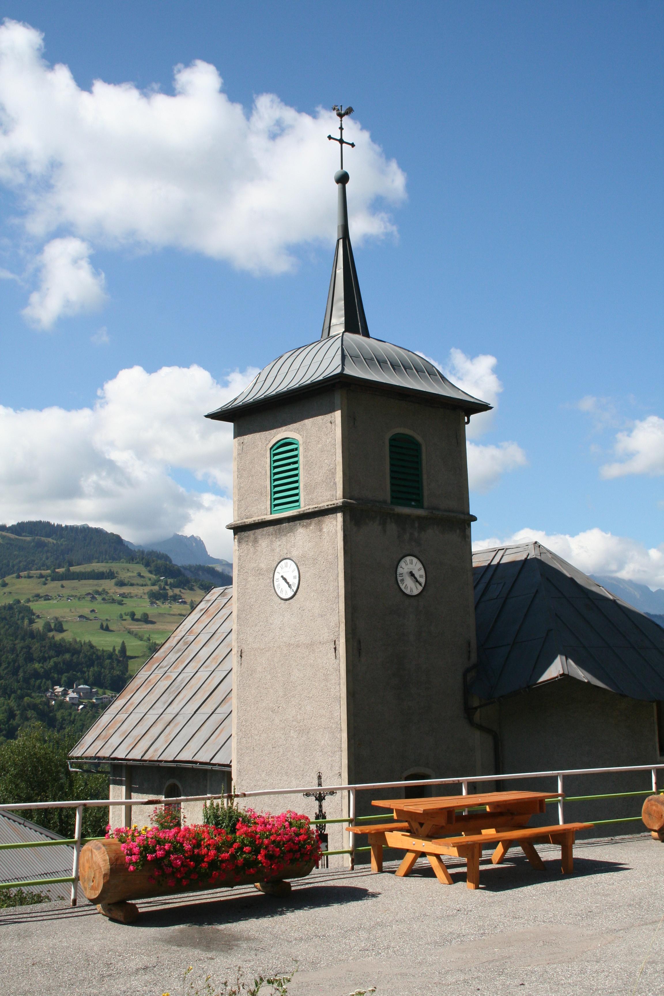 Eglise de cohennoz savoie mont blanc savoie et haute savoie alpes - Office de tourisme crest voland ...