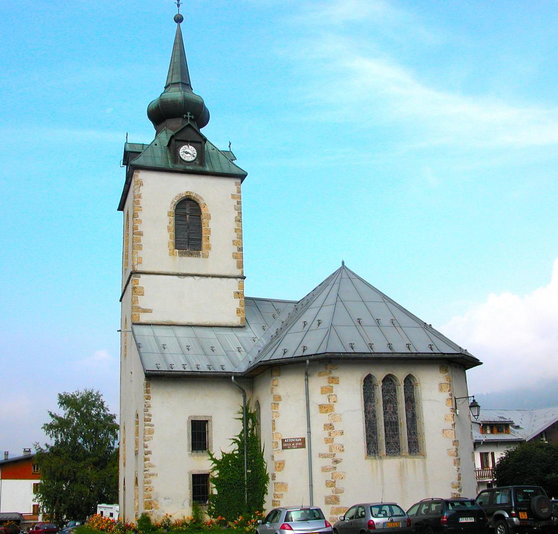 Eglise de notre dame de bellecombe savoie mont blanc - Office tourisme notre dame de bellecombe ...