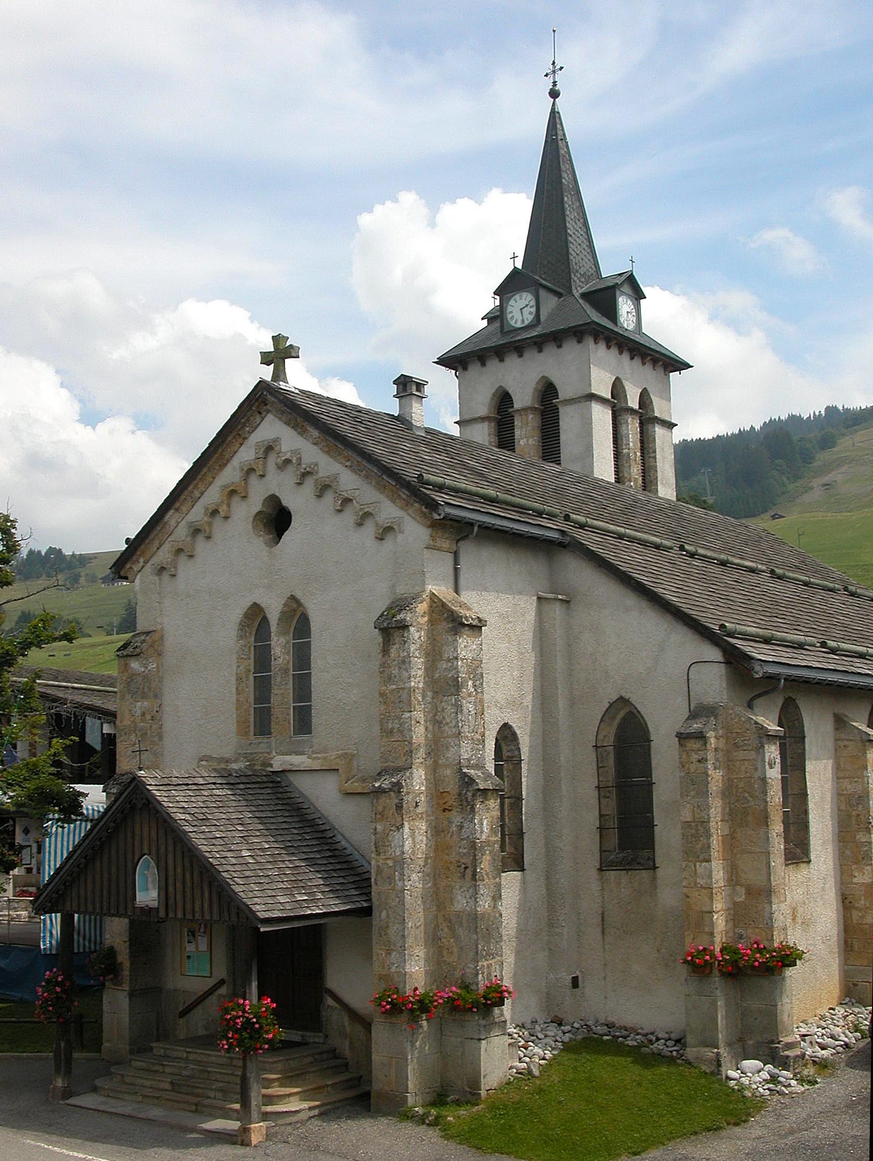 Eglise de crest voland savoie mont blanc savoie et haute savoie alpes - Office de tourisme crest voland ...