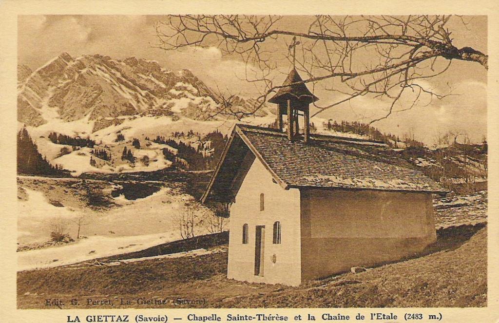 Chapelle des nants savoie mont blanc savoie et haute savoie alpes - Megeve office de tourisme ...