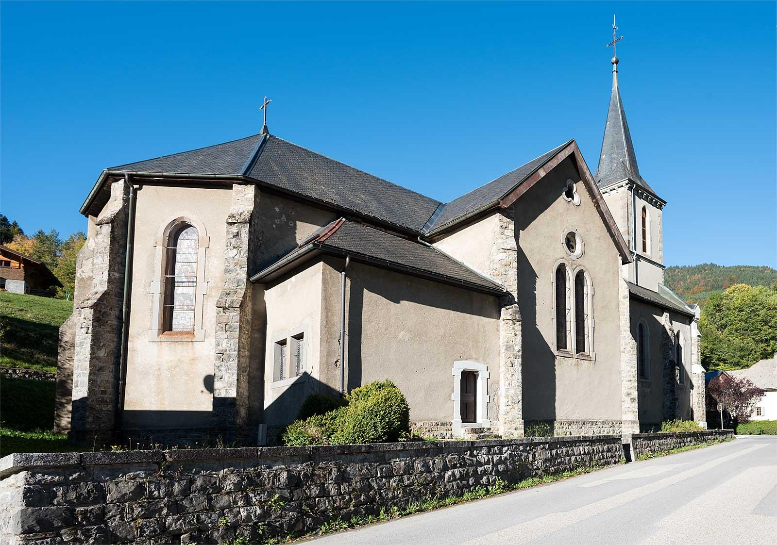 Eglise de la moussi re savoie mont blanc savoie et - Office du tourisme saint jean d aulps ...