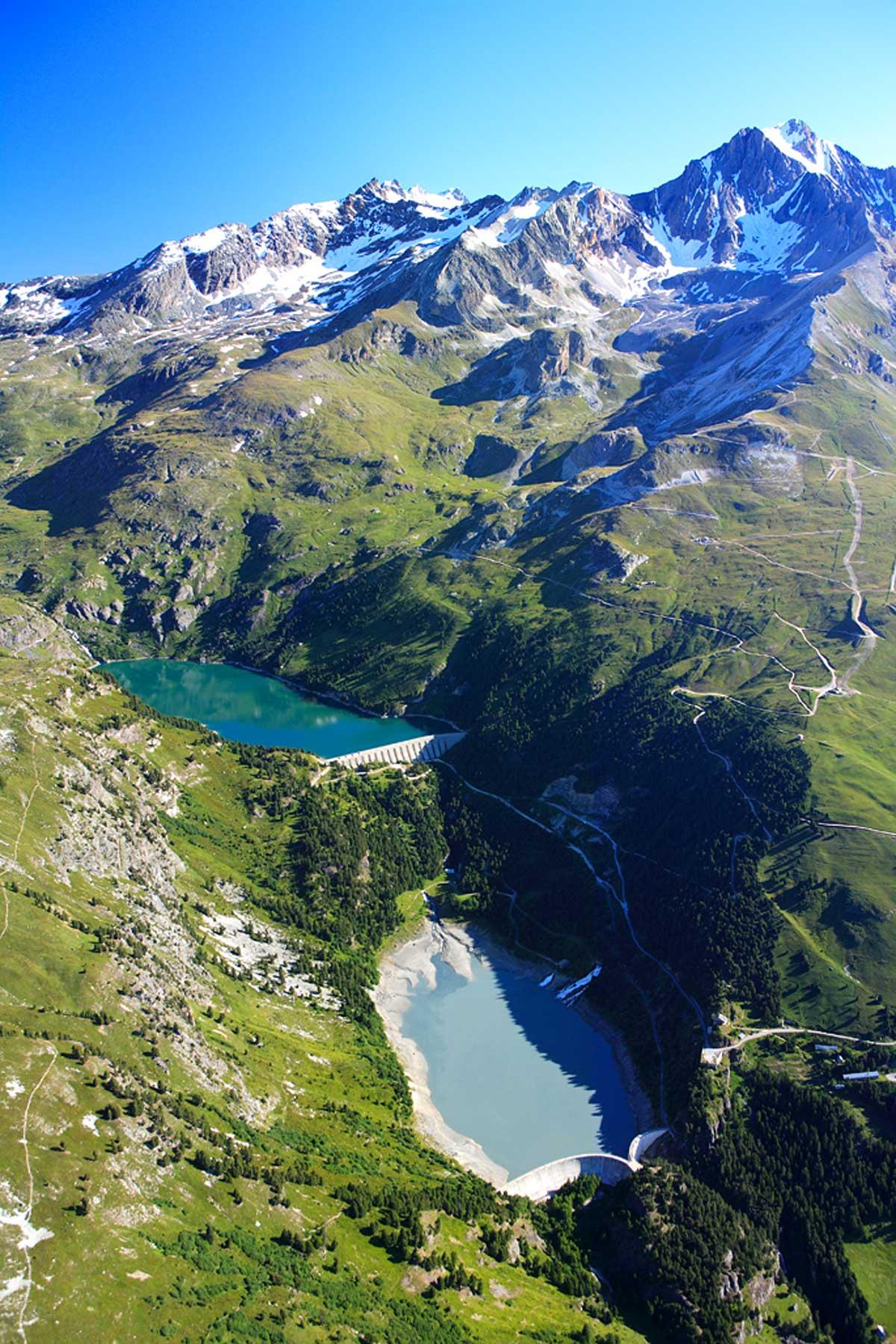 Barrages de plan d 39 amont et plan d 39 aval savoie mont blanc savoie et haute savoie alpes - Office de tourisme aussois ...