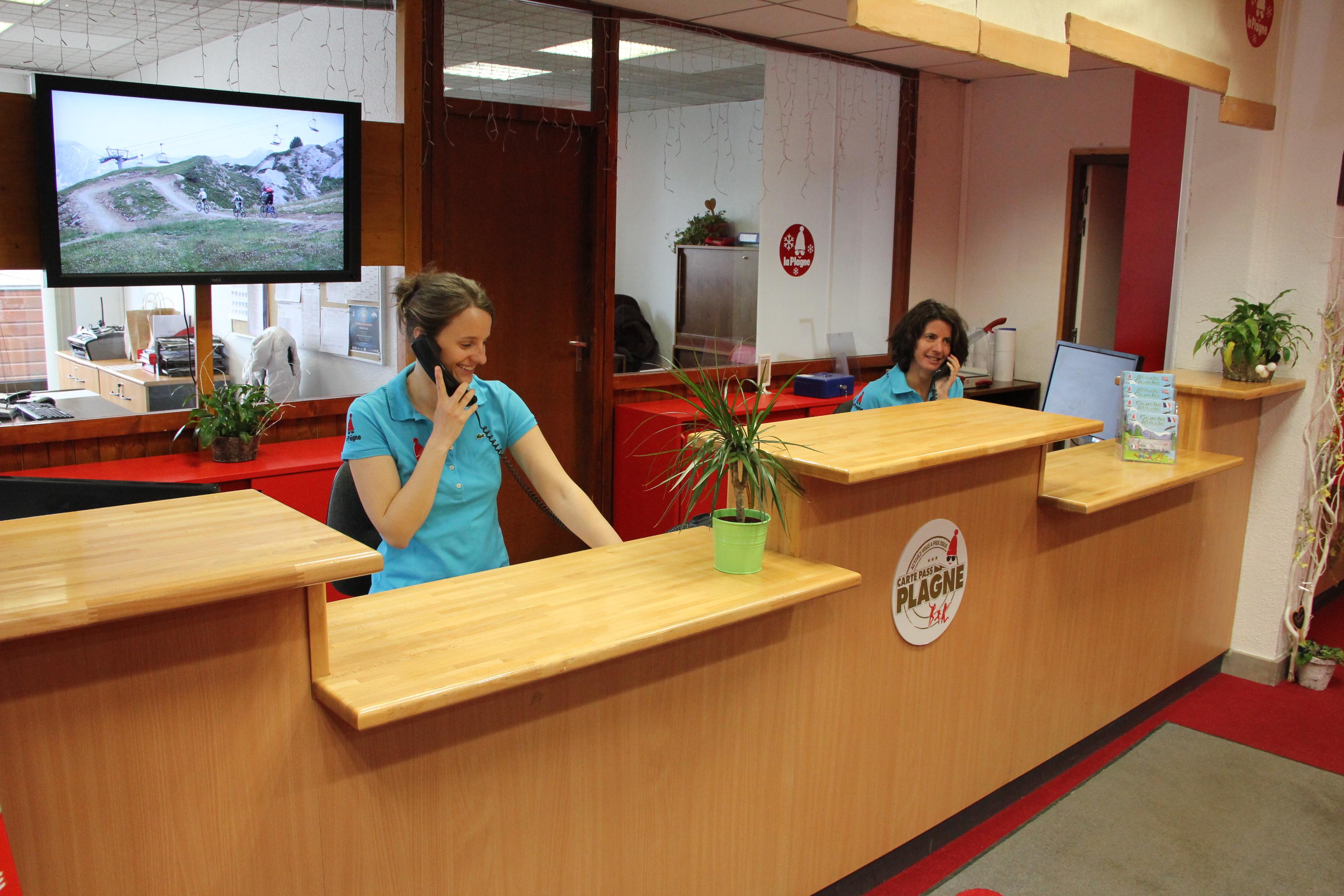 office de tourisme la plagne