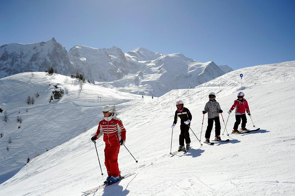 Esf de chamonix in chamonix mont blanc french alps - Office de tourisme chamonix mont blanc ...