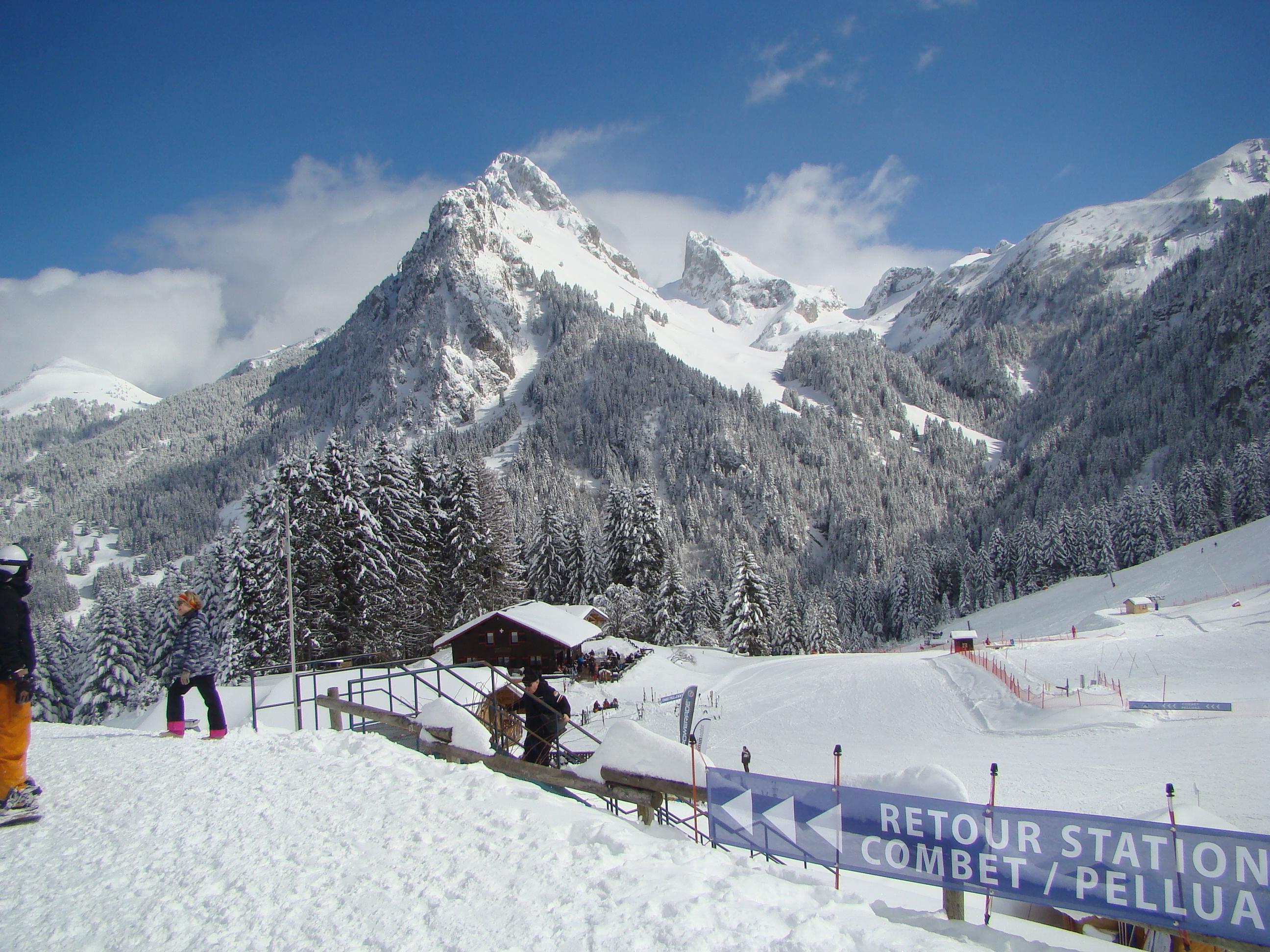 bernex - french alps - savoie mont blanc