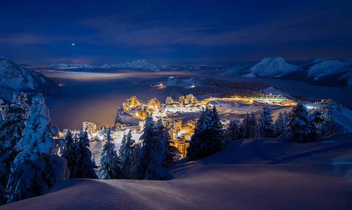 Avoriaz French Alps Savoie Mont Blanc