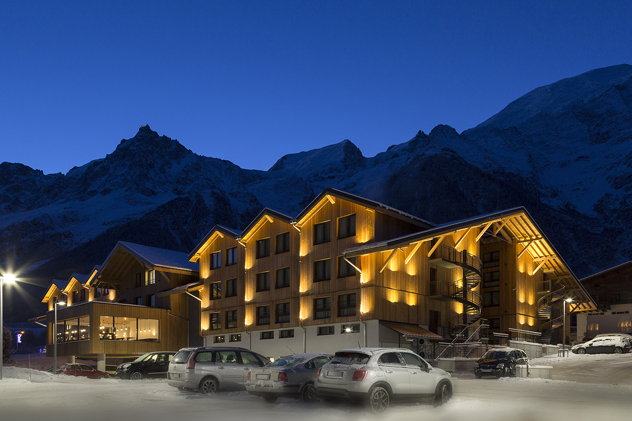 Rockypop hotel portes de chamonix in les houches for Hotels chamonix