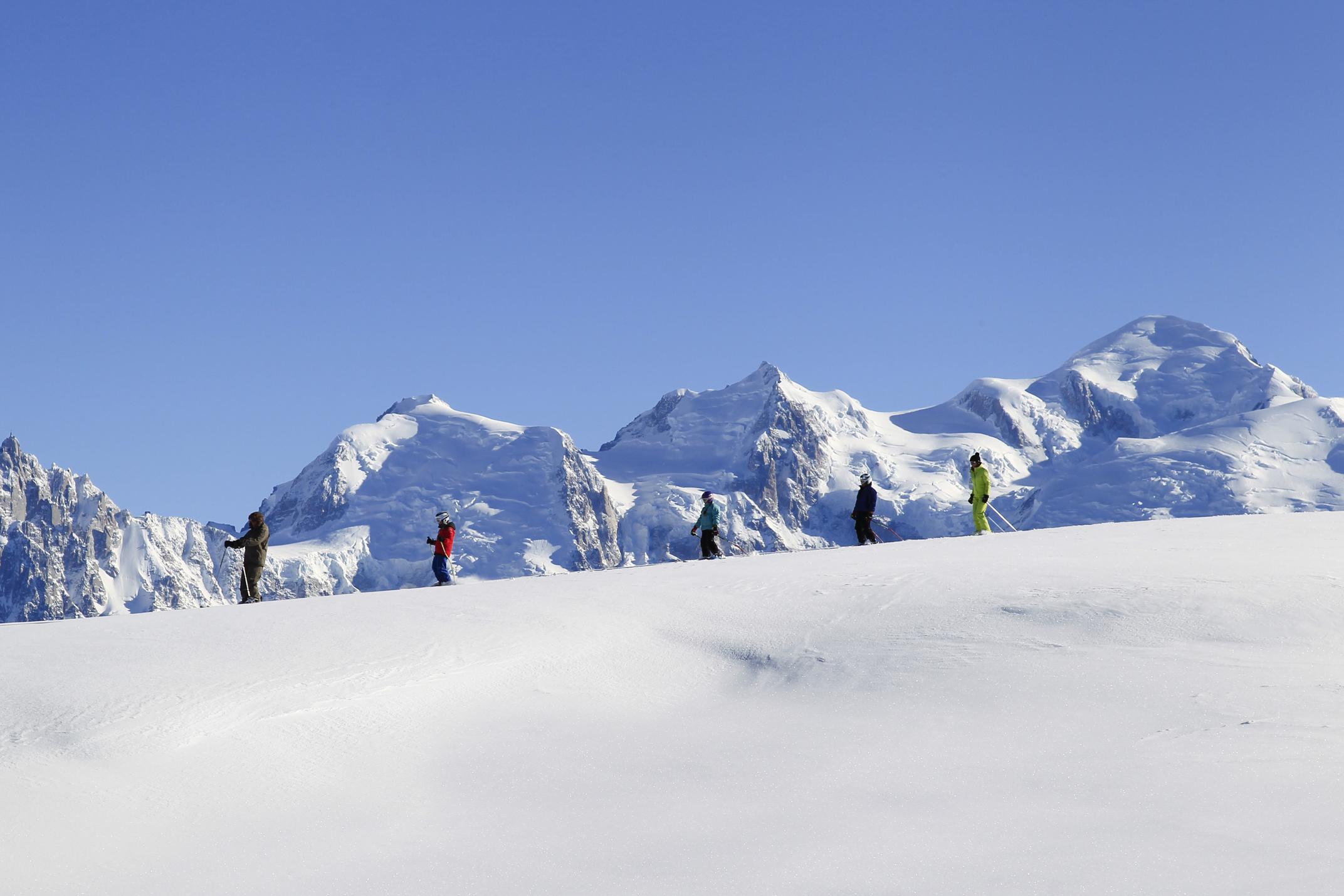 Flaine French Alps Savoie Mont Blanc