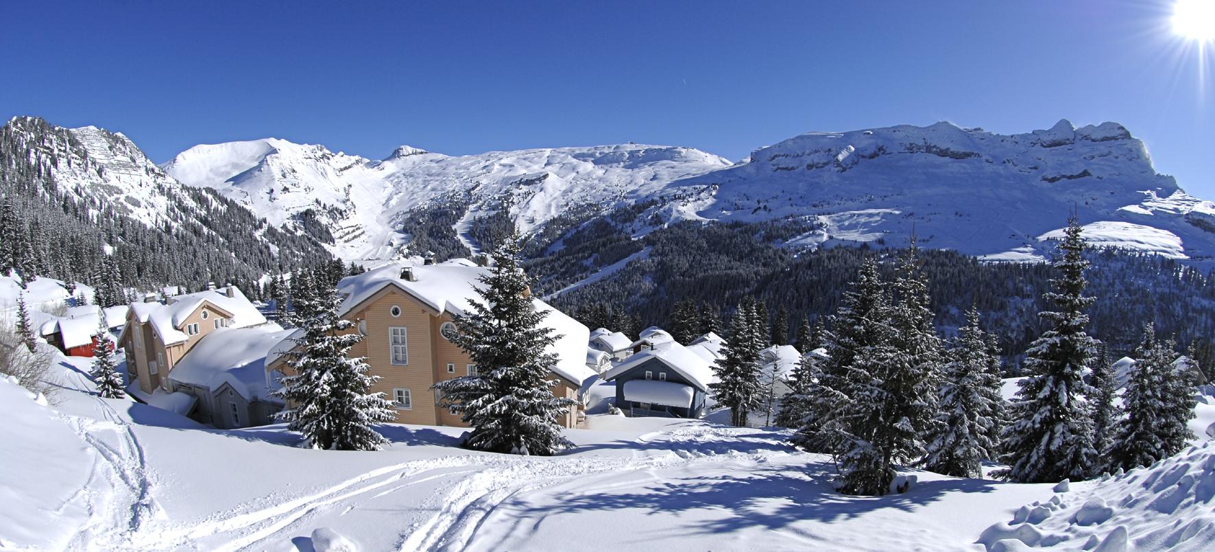 Flaine - French Alps - Savoie Mont Blanc