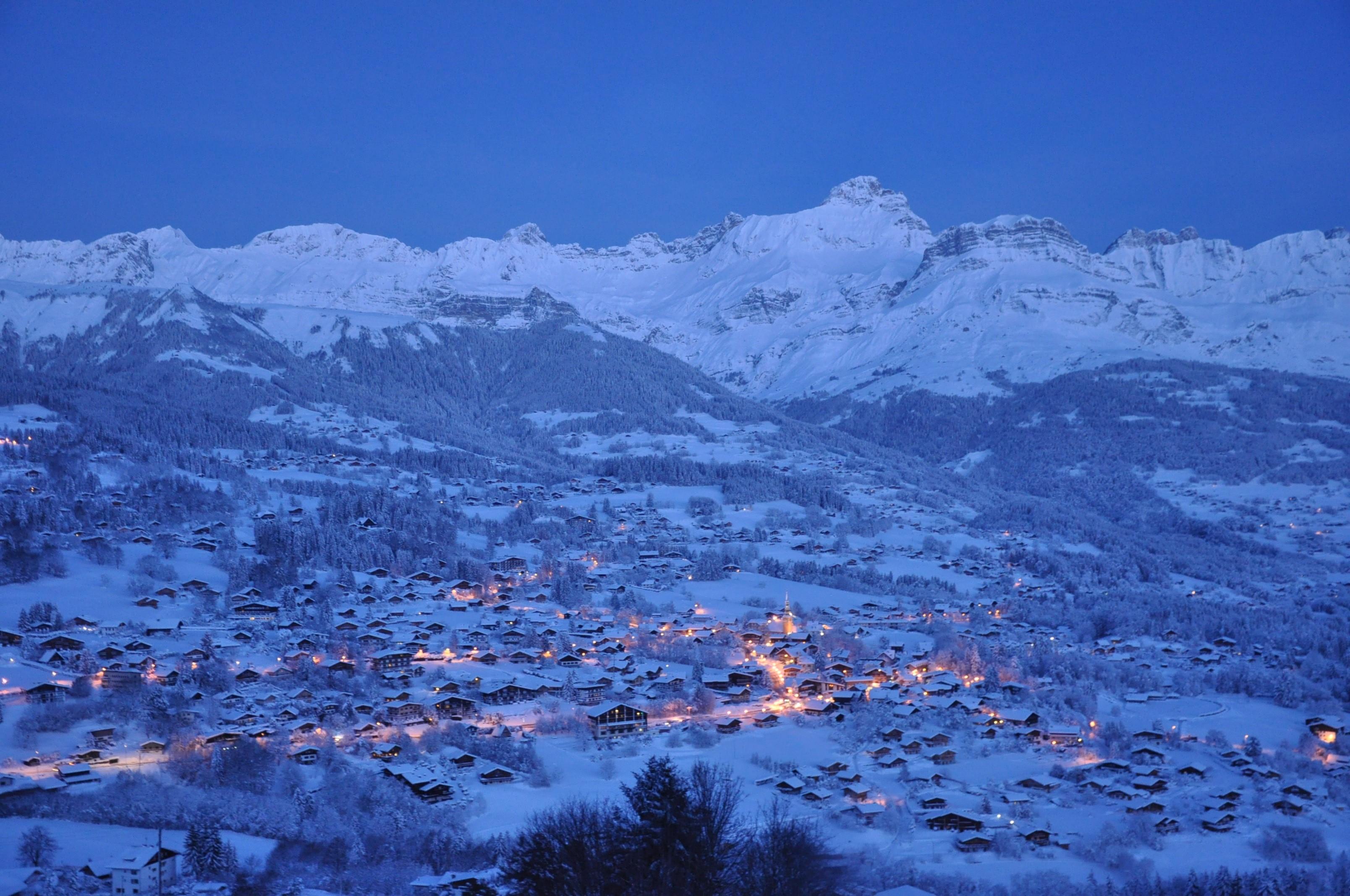 Combloux Savoie Mont Blanc Savoie Et Haute Savoie Alpes