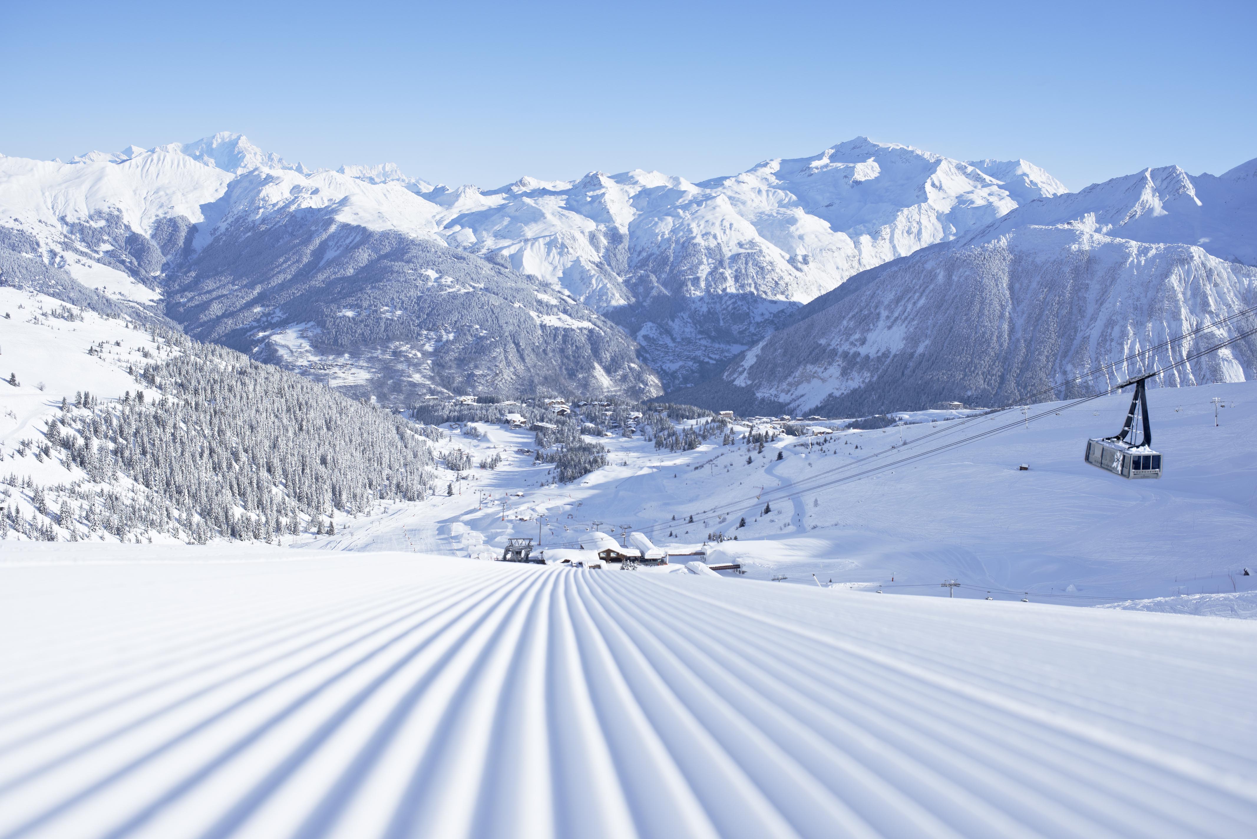 Courchevel French Alps Savoie Mont Blanc